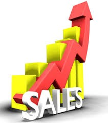 business accounting sales graph