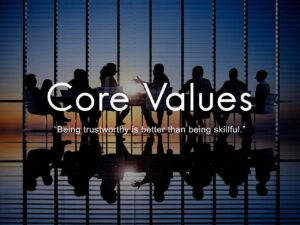 understand yourself by identifying your cores